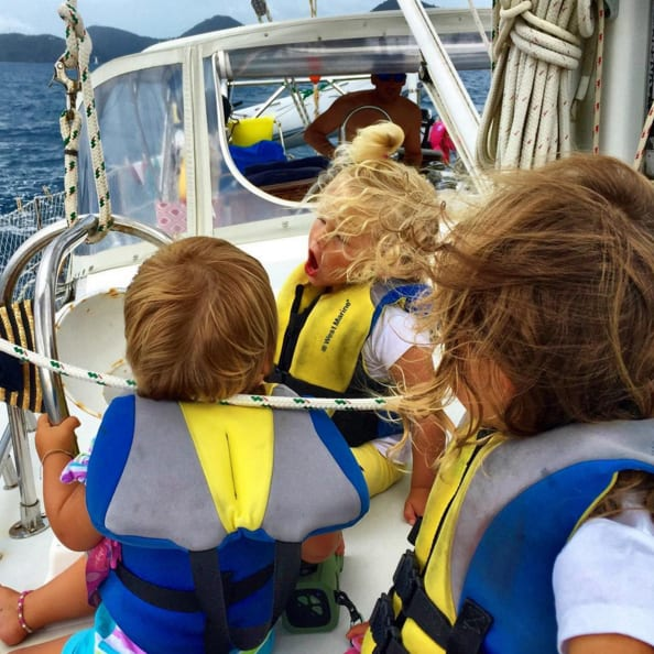 Sail with a baby