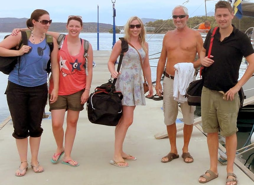 sailing holiday packing list