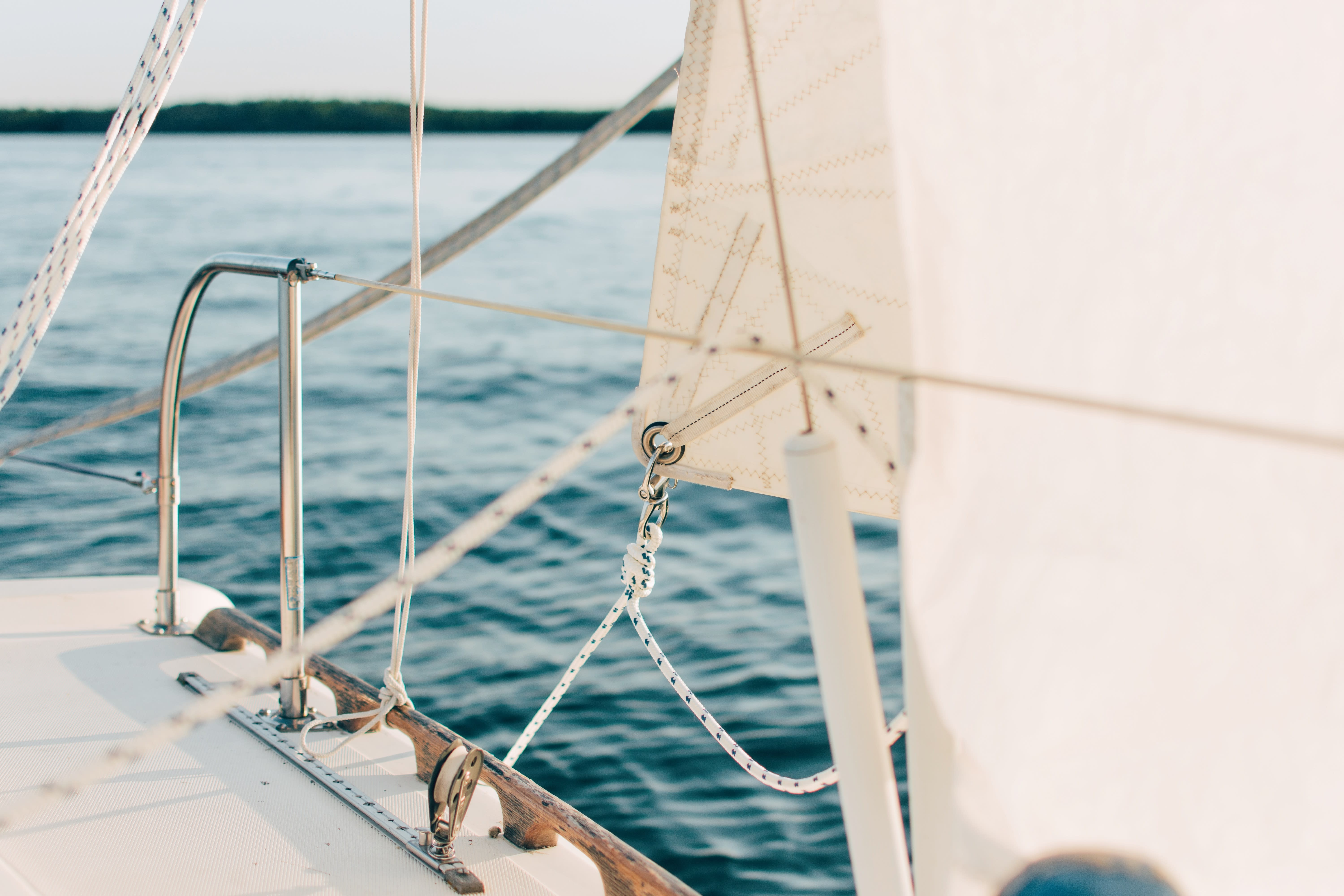 Sailing the high seas: learning the sailing basics on a sailboat