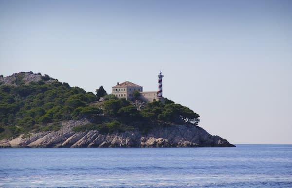 lighthouse Palagruža croatia