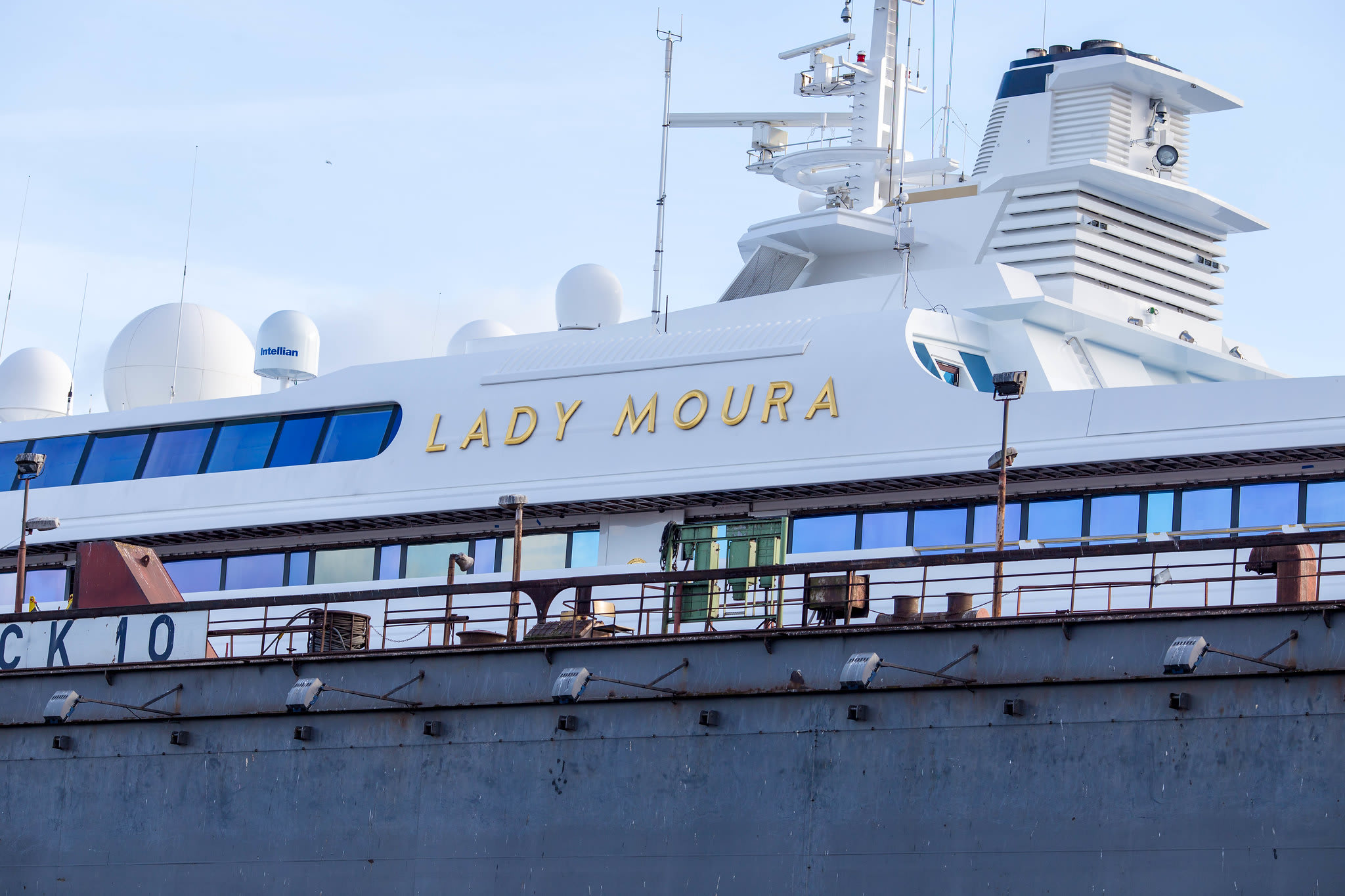 Lady moura best luxury yacht