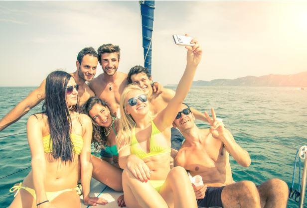 party sailing destinations
