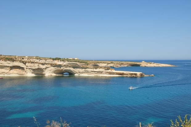 Sailing in Malta