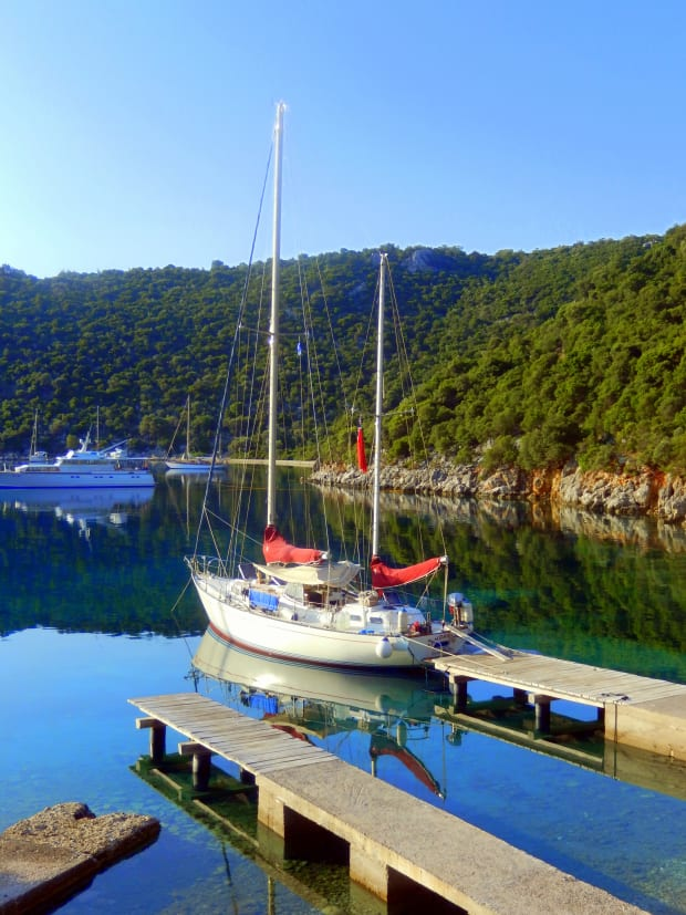 Ionian Anchorages