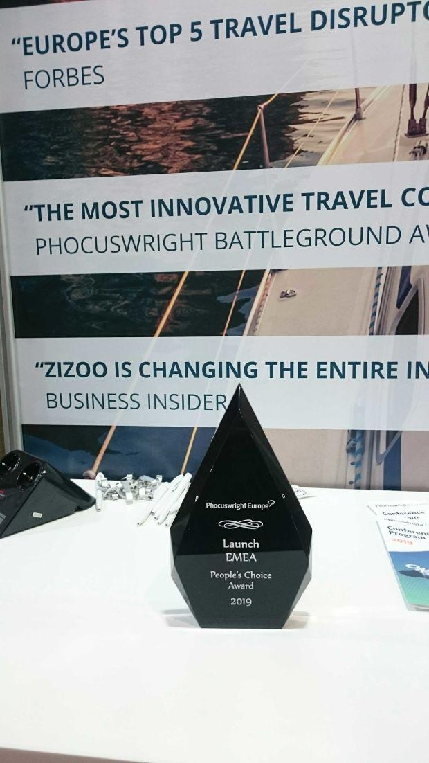 People's Choice Award at Phocuswright Europe 2019.