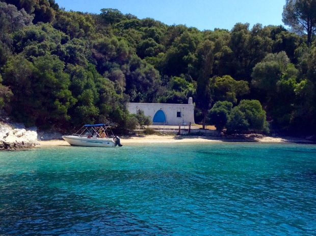 sailing the ionian islands