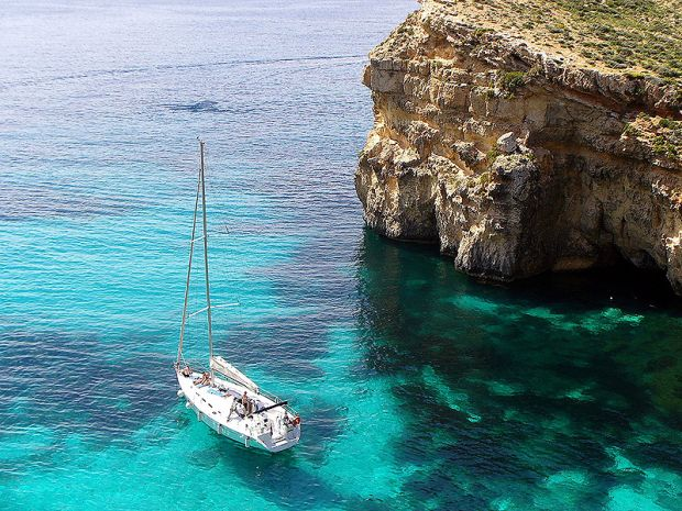 Sailing in Malta