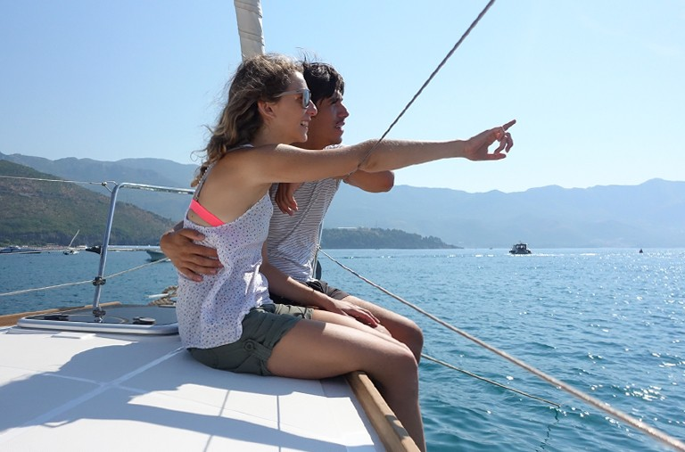 Enjoy a romantic boat holiday with someone you care about