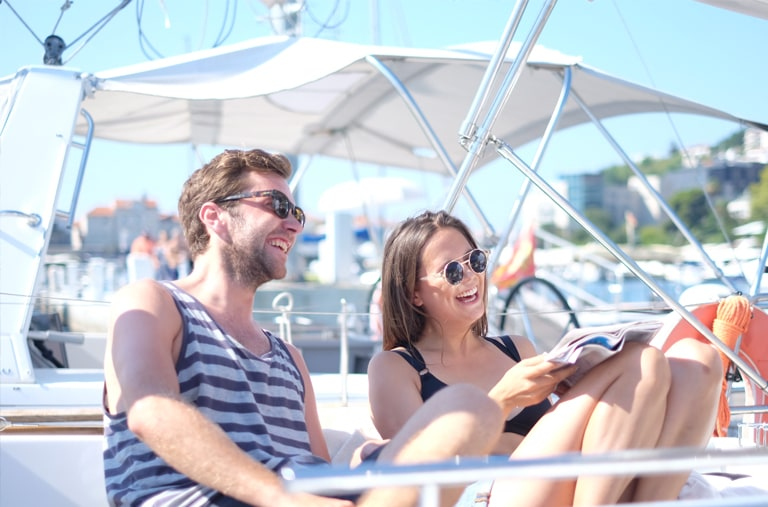 Find a yacht charter for you and your friends to share