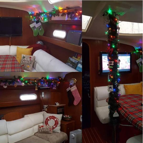 christmas on board