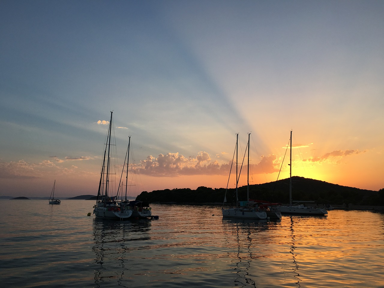 Segeln in Dalmatien