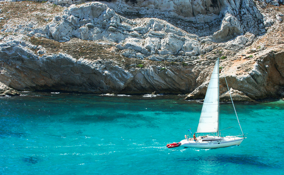 Sailing holiday in Europe