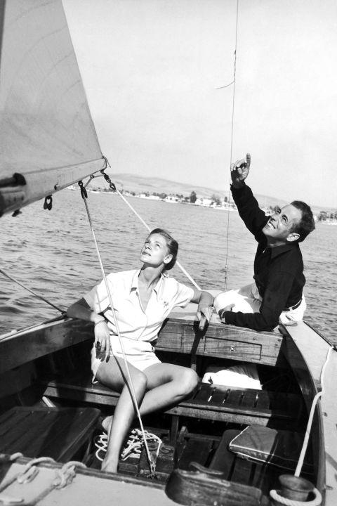Humphrey Bogart and Lauren Bacall, 1944