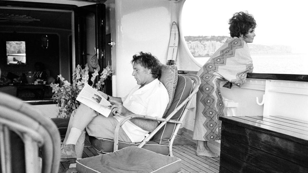 Elizabeth Taylor and Richard Burton, 1967