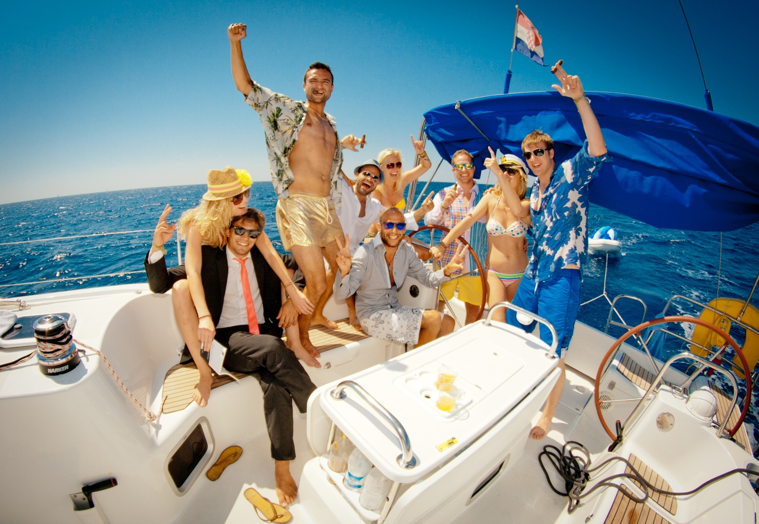 Best party islands in the world: Party sailing in Europe