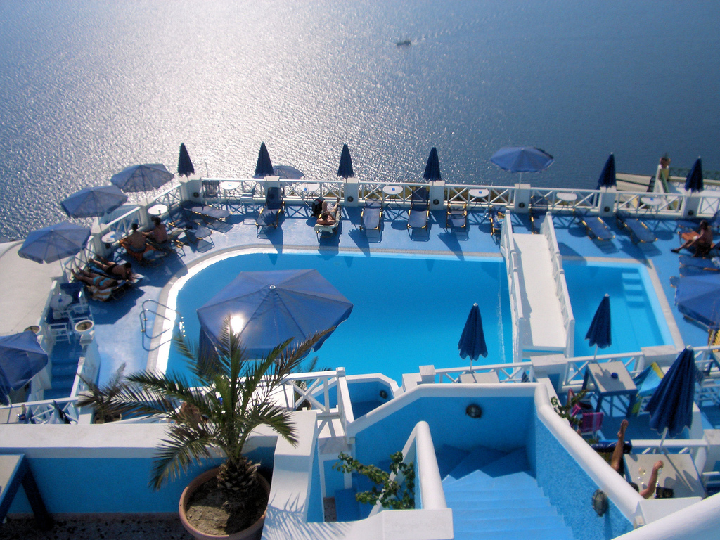 Best party islands in the world: Santorini, Greece