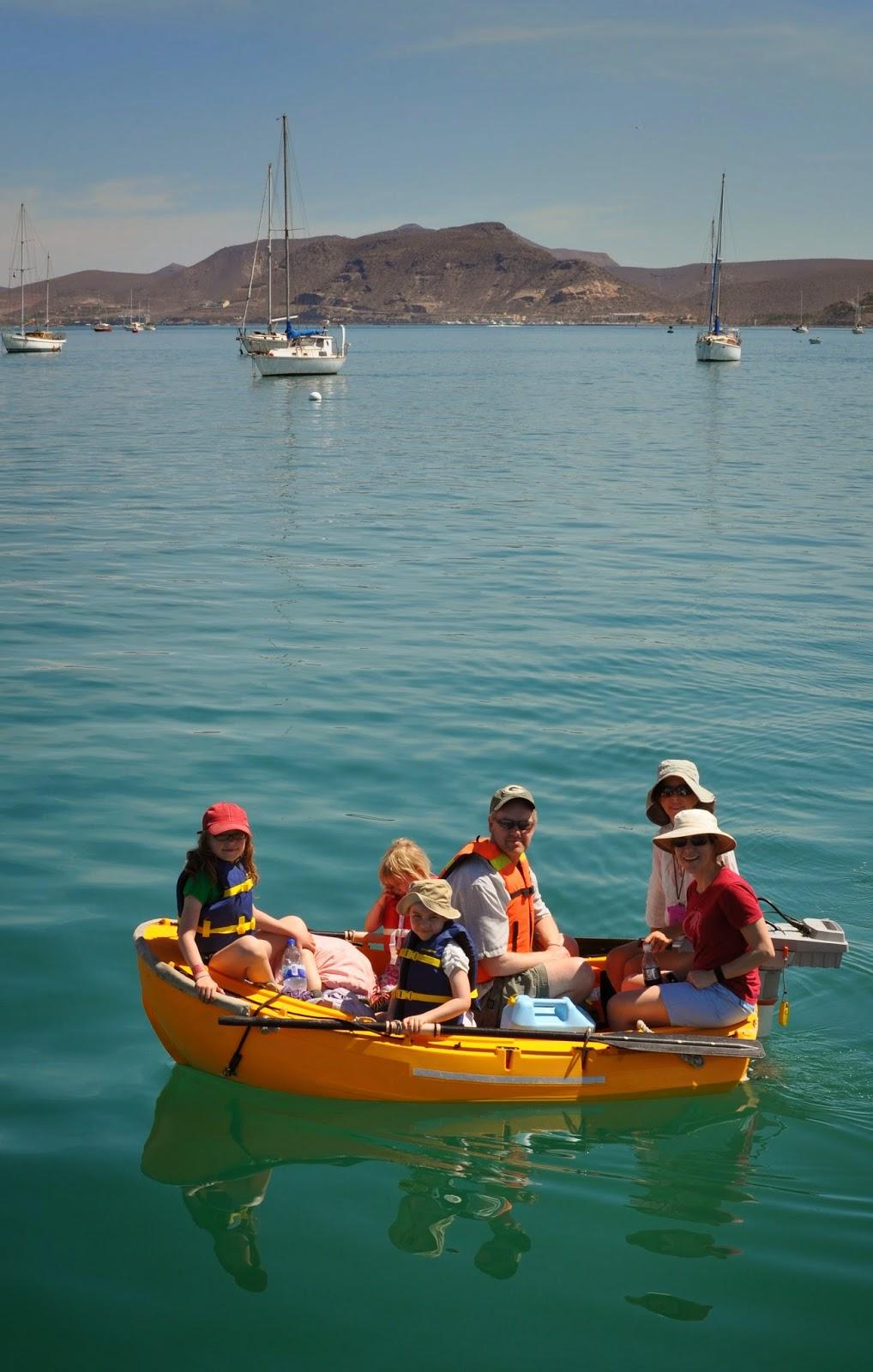 Family sailing holiday