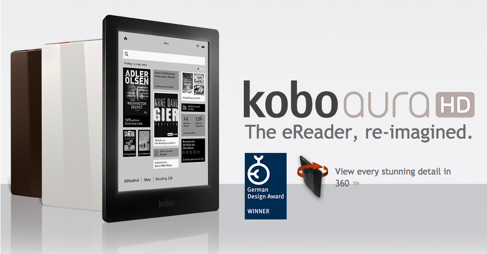kobo ereader packing for a holiday Zizoo