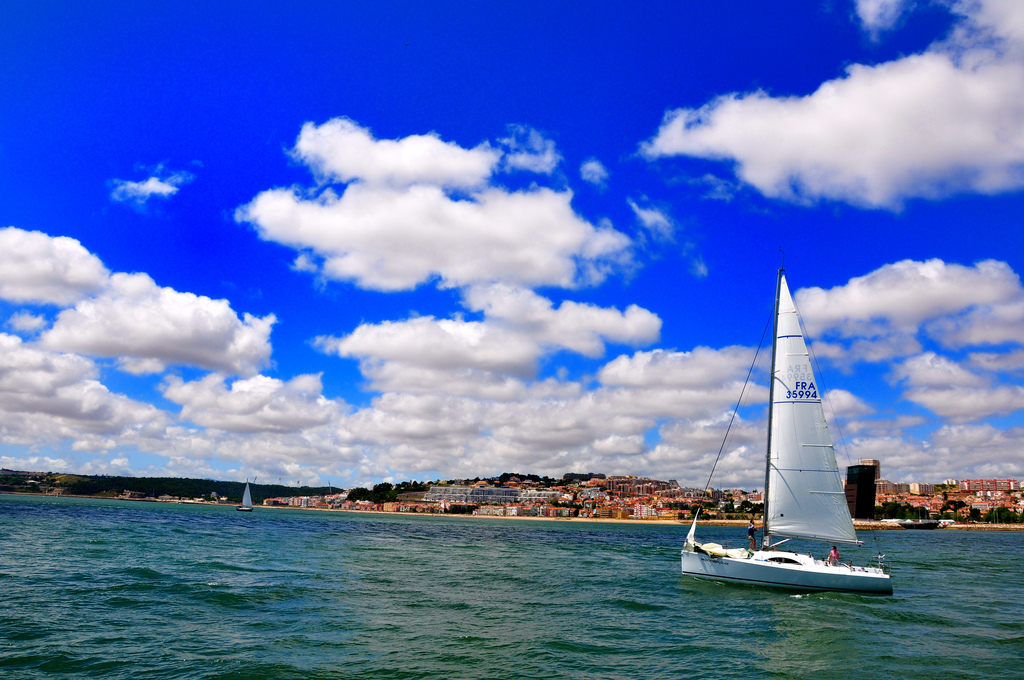 Sailing in Lisbon, Portugal