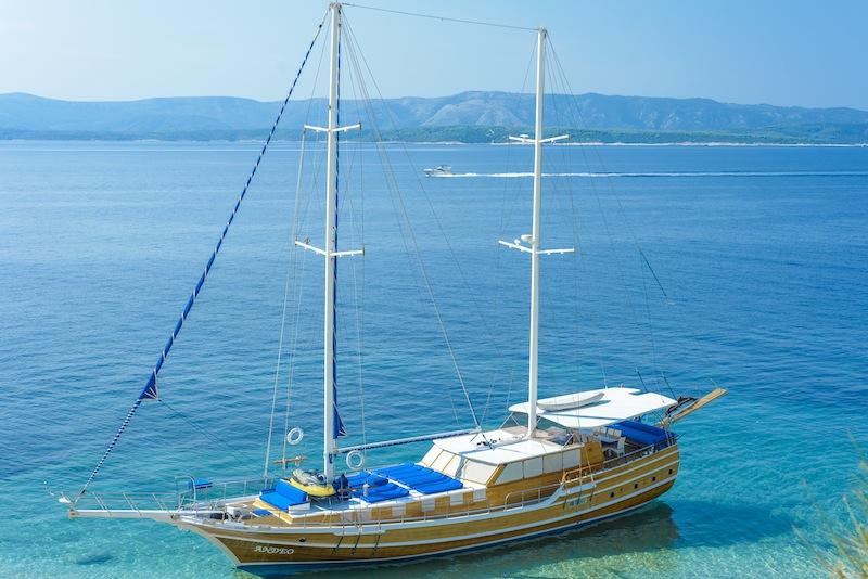 Rent a Gulet boat in Turkey