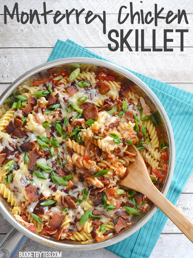 Monterrey Chicken Skillet Recipe