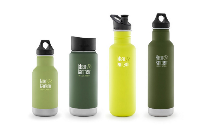 Klean Kanteen water bottles packing holiday Zizoo
