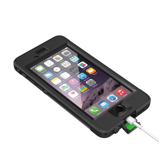 Lifeproof Nüüd waterproof iphone case packing with Zizoo