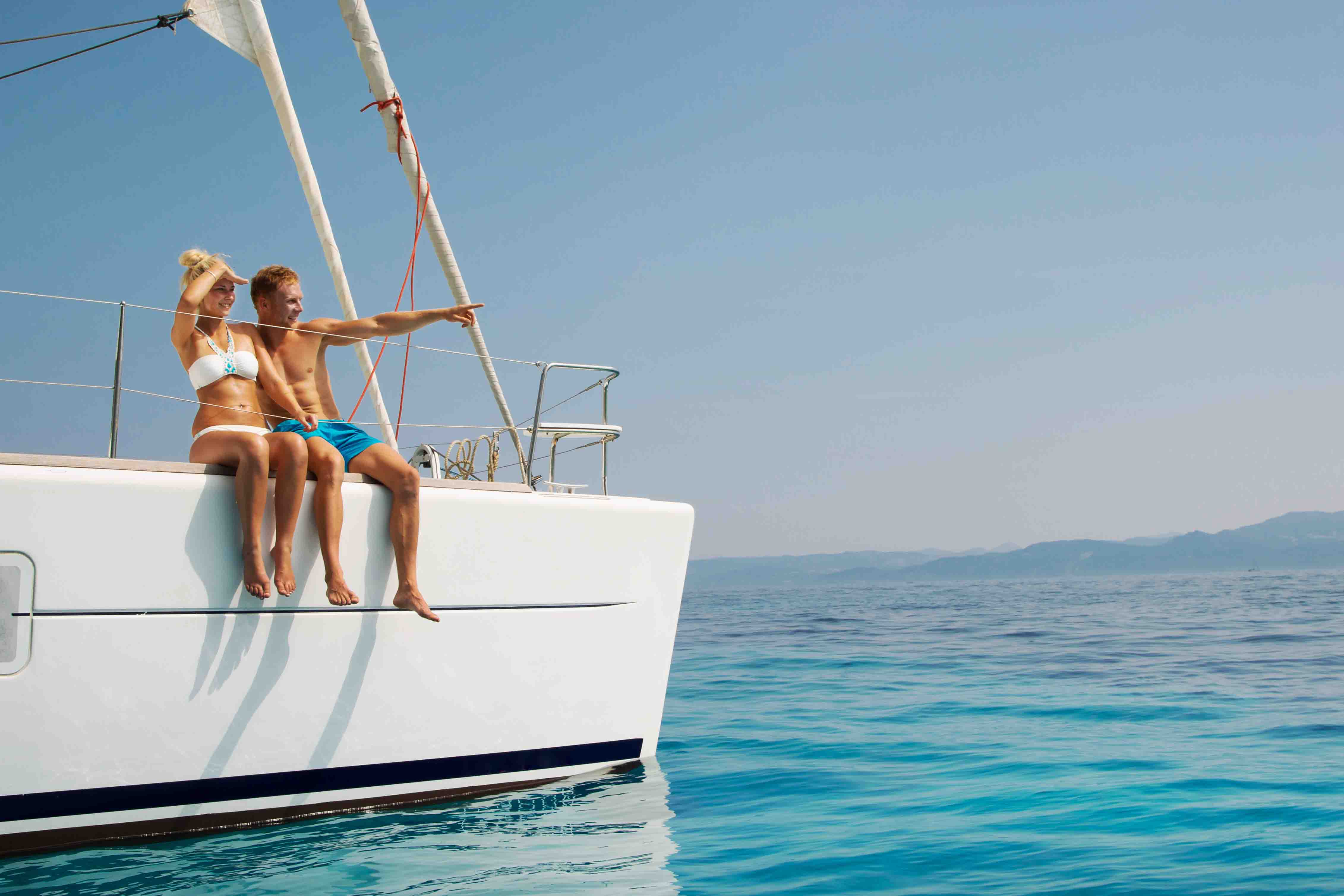 Image result for Sailing Yacht For A Perfect Romantic Vacation