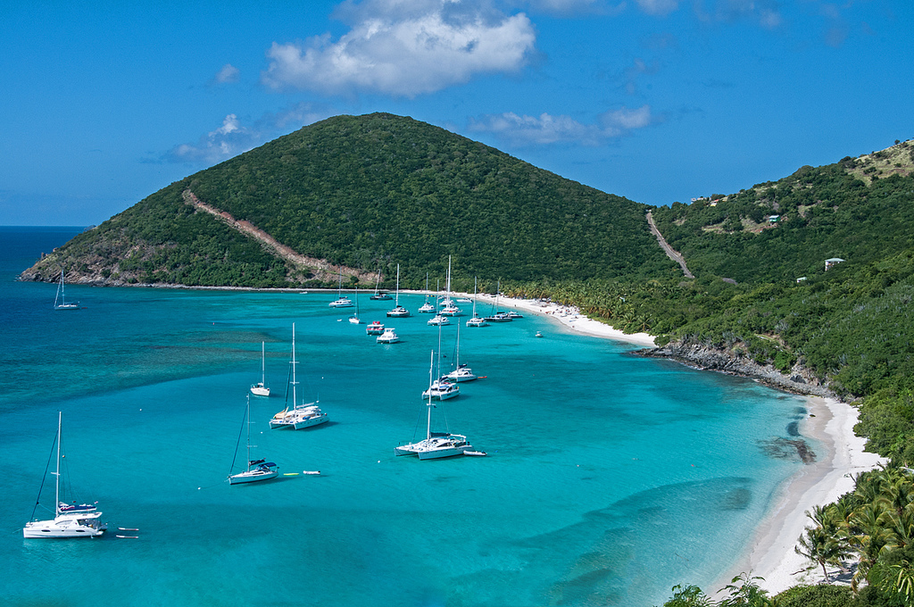 White Bay Jost Van Dyke British Virgin Islands sailing Zizoo
