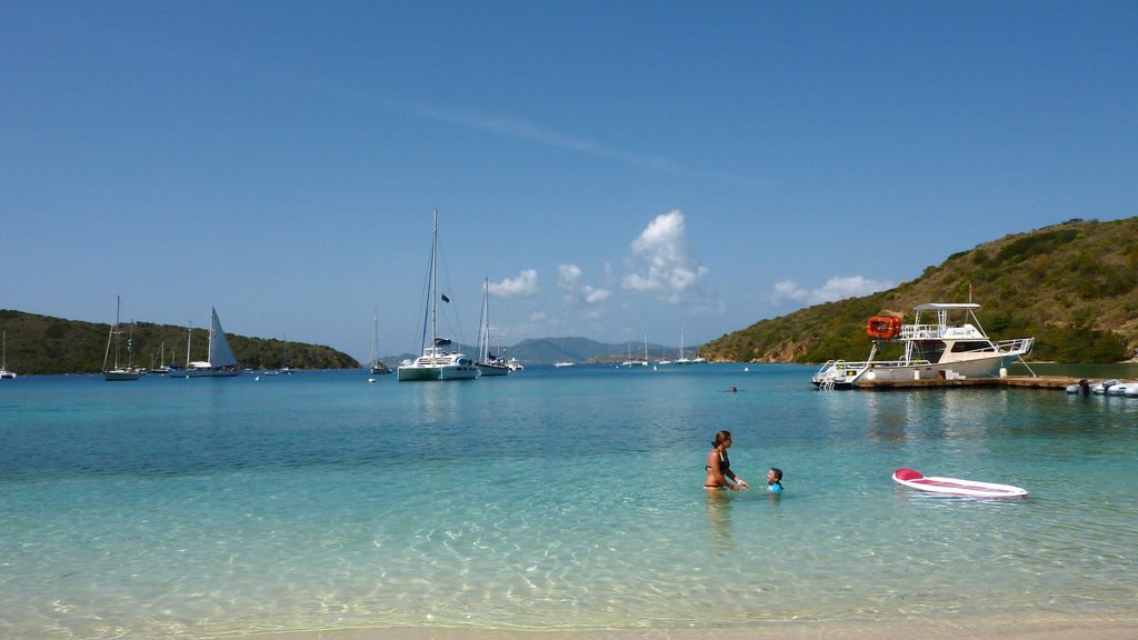 Norman Island British Virgin Island sailing Zizoo