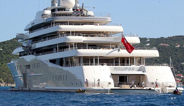 Eclipse super luxury yacht Zizoo