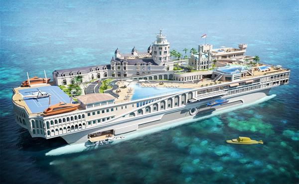 Streets-of monaco super yacht