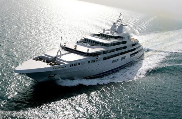 Dubai super yacht
