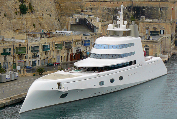 Top 10 The Best Luxury Yachts In The World