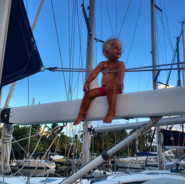 Sailing with a baby