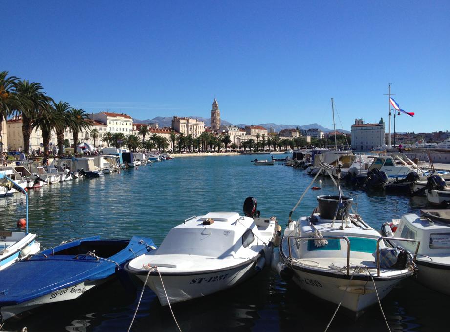 Sailing in Split