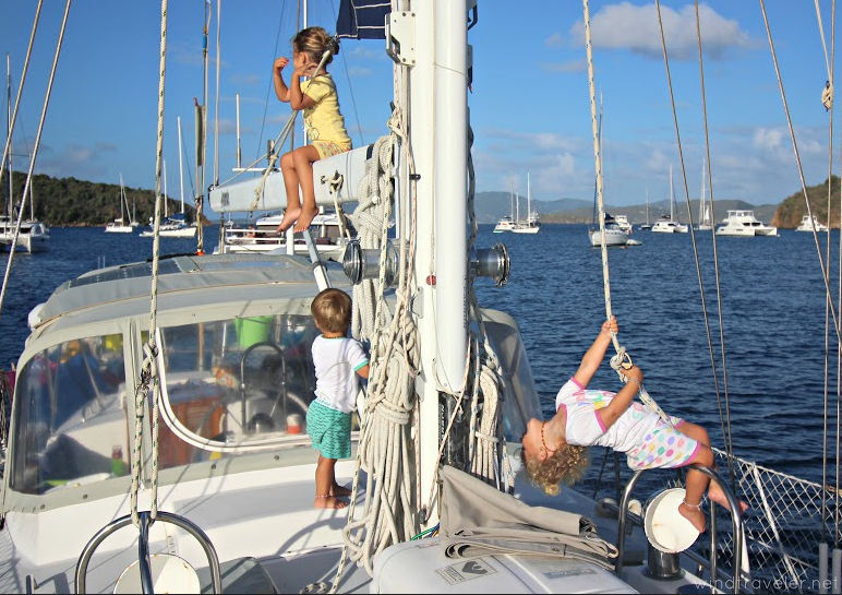 sailing with babies