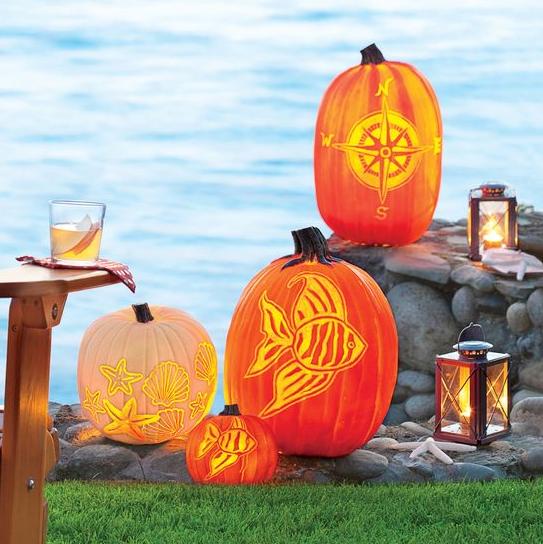 nautical pumpkins