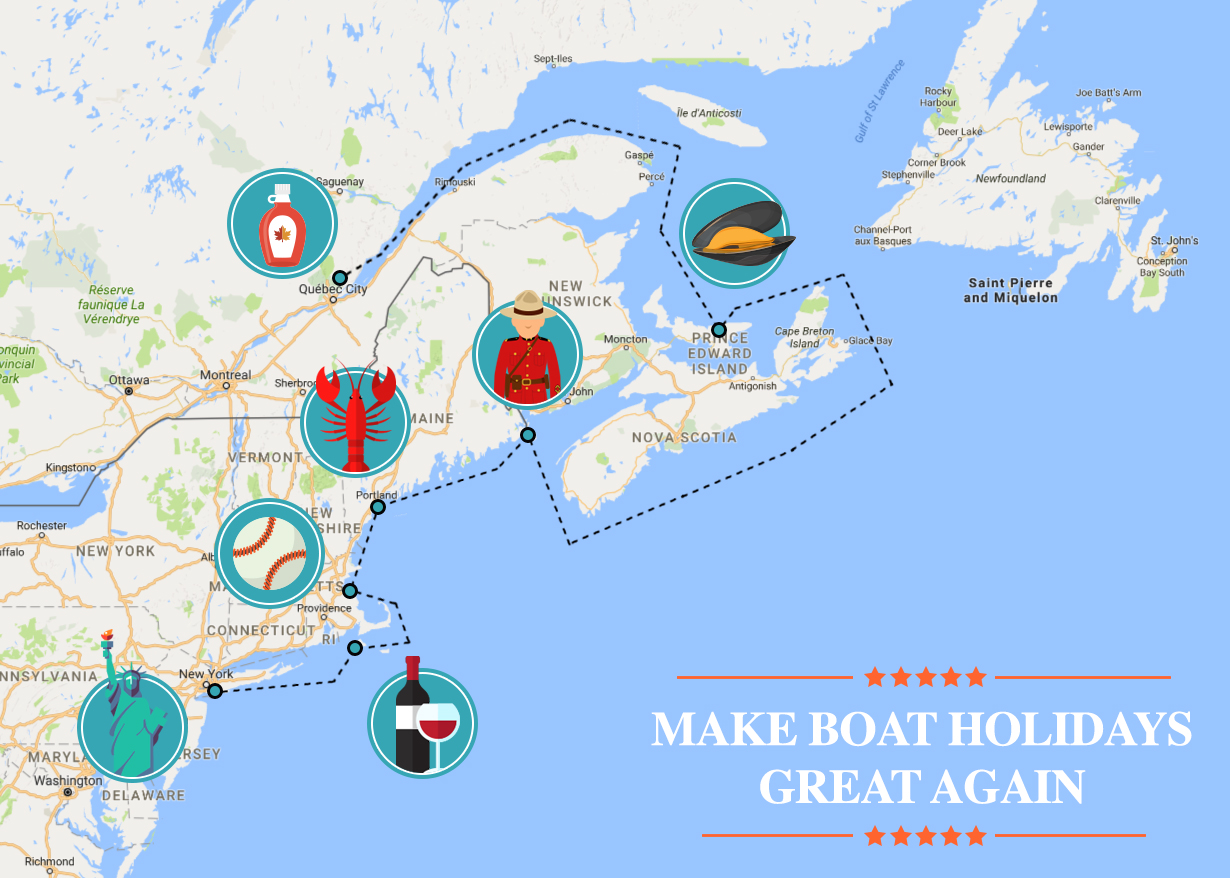 sailing to canada after elections