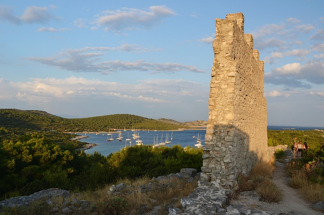 Sailing to Kornati Islands from Biograd na moru