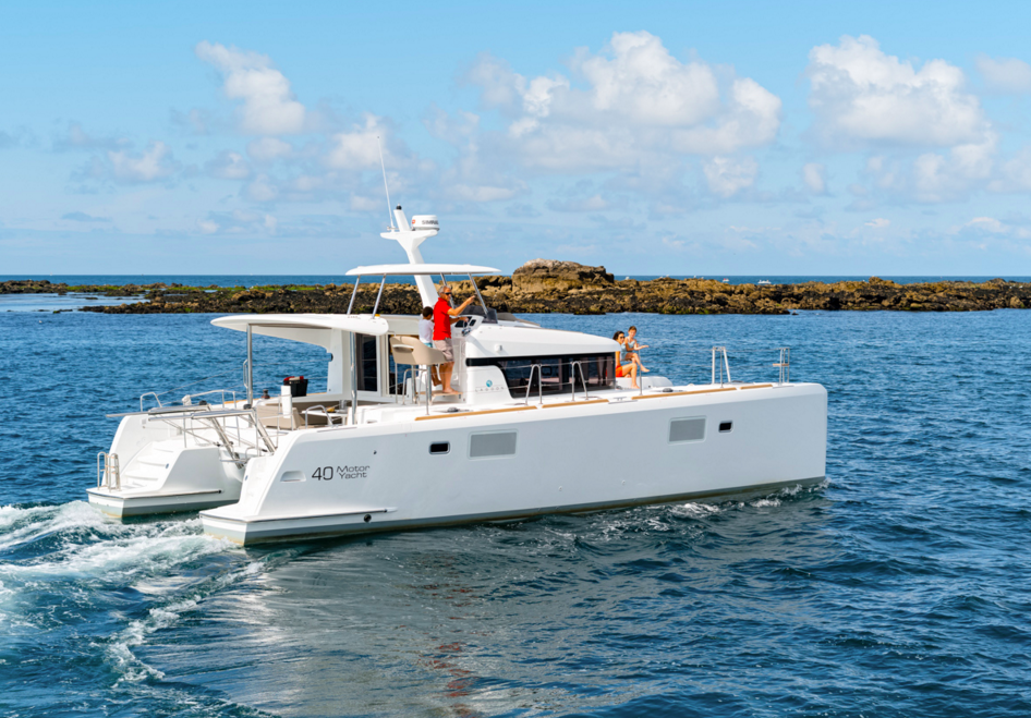 charter the ultimate power catamaran