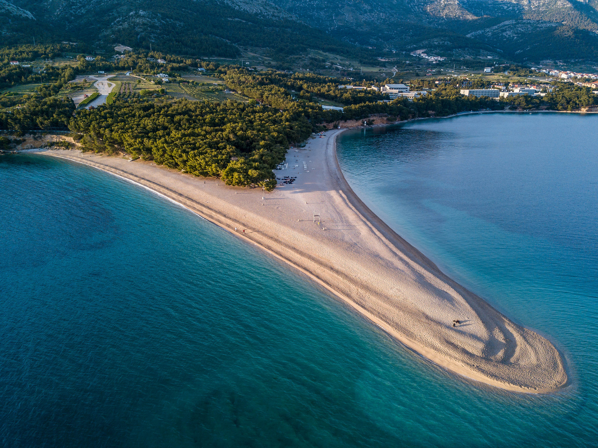 sail to zlatni rat in croatia