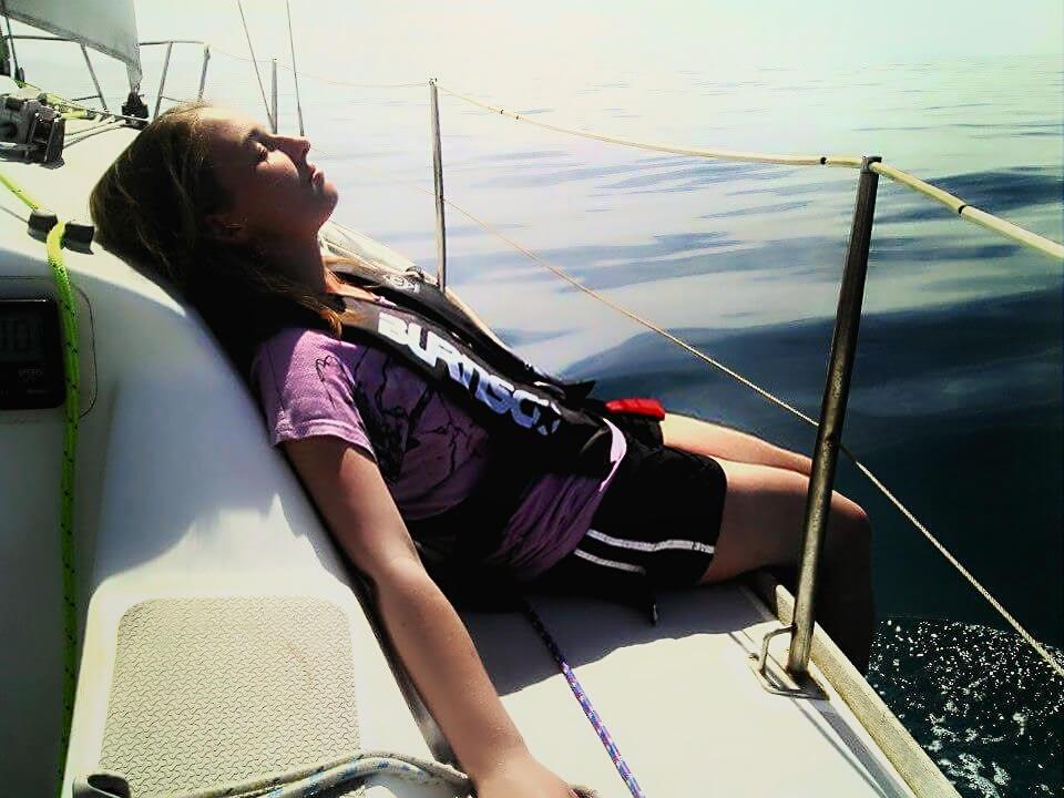How to keep warm while sailing
