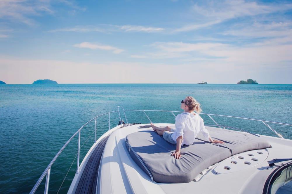sleeping on a boat