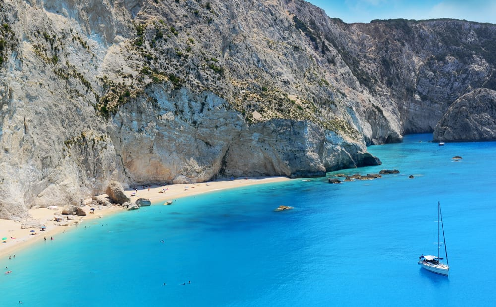 Sailing the Cyclades Islands, Greece