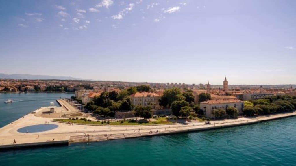 zadar croatia sea organ sea adriatic sailing