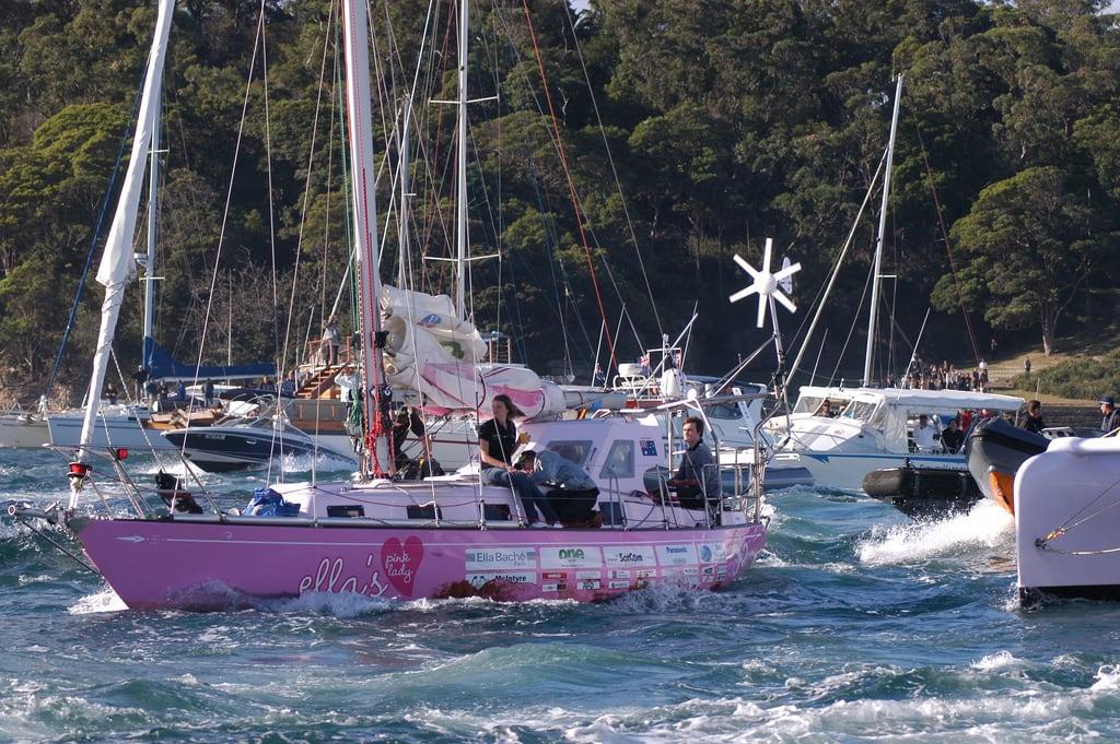 Jessica Watson sailing Zizoo