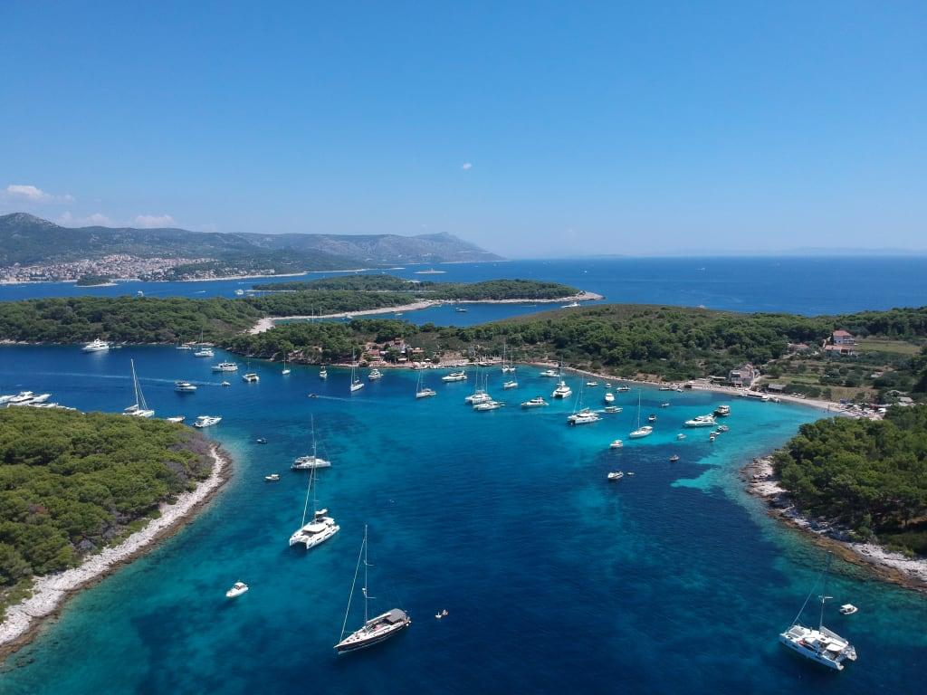 sailing in croatia best beaches
