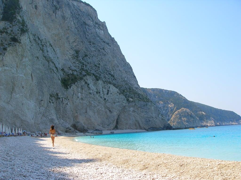 Beaches in Lefkada Greece