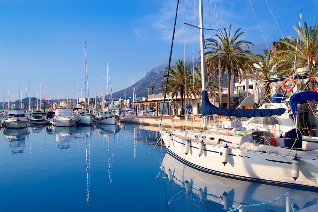 Sailing holiday in Denia, Spain